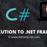 Introduction to dot net framework